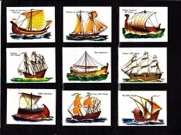 Lot 15 Images Cartonnées, Bateaux, Scolaire, Bon Point - Unclassified