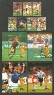 MALDIVES 1990 WORLD CUP FOOTBALL ITALY ITALIA 90 SET & 4 M/SHEETS MNH - Maldives (1965-...)