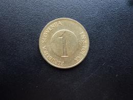 SLOVÉNIE : 1 TOLAR   1996    KM 4      SUP - Slovénie