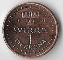 Sweden 2016 1 Krona [C564/2D] - Sweden