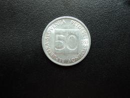 SLOVÉNIE : 50 STOTINOV   1993    KM 3     SUP+ - Slovénie