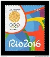 Georgia 2016 Mih. 680 Olympic Games In Rio MNH ** - Georgia