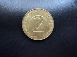 SLOVÉNIE : 2 TOLARJA   1994 (K) *   KM 5    SUP - Slovénie