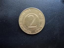 SLOVÉNIE : 2 TOLARJA   1995 (K) *   KM 5    SUP - Slovénie