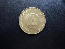 SLOVÉNIE : 2 TOLARJA   1996    KM 5    SUP - Slovénie