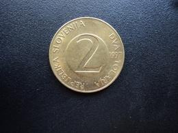 SLOVÉNIE : 2 TOLARJA   1997    KM 5    SUP - Slovénie