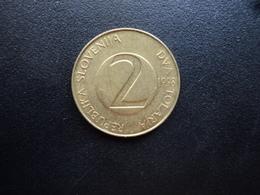 SLOVÉNIE : 2 TOLARJA   1998    KM 5    SUP - Slovénie