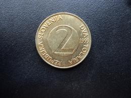 SLOVÉNIE : 2 TOLARJA   1999    KM 5    SUP - Slovénie