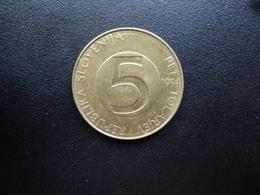 SLOVÉNIE : 5 TOLARJEV   1994 (BP) *   KM 6     TTB - Slovénie