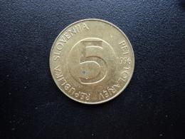 SLOVÉNIE : 5 TOLARJEV   1996    KM 6     SUP - Slovénie