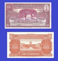 Paraguay  1000  Guarani  1952 - REPLICA --  REPRODUCTION - Paraguay