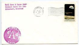 United States 1969 Goddard Space Flight Center, Apollo Cover - Vereinigte Staaten