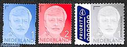 Netherlands 2018 Definitives King Willem Alexander With Year 2018 3v S-a, (Mint NH), Stamps - Ongebruikt