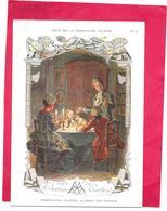 CHROMO 13x19 Cm  PHOSPHATINE FALIERES Aliment Idéal Des Enfants -  Le Chateau De Cartes  -  BARA- - Cromos