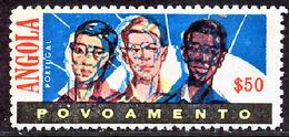 !■■■■■ds■■ Angola Postal Tax 1962 AF#10(*)$50 Men ERROR (x0989) - Angola