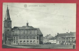 Quevaucamps -Grand'Place, Kiosque - 1922 ( Voir Verso ) - Beloeil