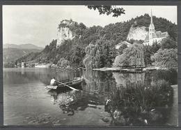 Yugoslavia, Slovenia, Bled, Church And Castle From Lake, 1961. - Jugoslavia