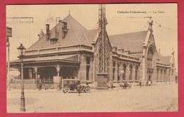 Châtelet-Châtelineau - La Gare ... Oldtimer - 1932 ( Voir Verso ) - Châtelet