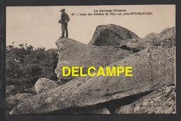 DD / DOLMEN & MENHIR / L' AUTEL DES DRUIDES DE VINZANET, PRÈS PEYRELEVADE / ANIMÉE - Dolmen & Menhirs