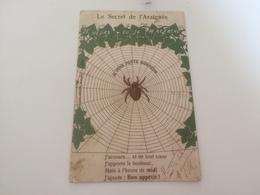 AY -2500 -  LE SECRET DE L'ARAIGNEE - Je Vous Porte Bonheur - Cartes Postales