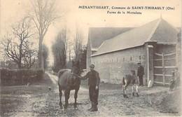 MENANTISSART - Commune De SAINT THIBAULT - Ferme De La MOTTELETTE - CHEVAUX - Oise - 60 - France