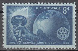 UNITED STATES     SCOTT NO.1066     MNH     YEAR 1955 - Nuevos