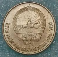 Mongolia 15 Möngö, 1970 - Mongolie
