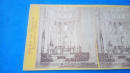 Photo Stéréoscopique Cathédrale Beauvais - Stereoscopic