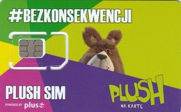 Poland - Plush (standard, Micro, Nano SIM) - GSM SIM - Poland