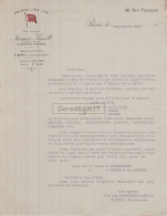 75 20 613 PARIS SEINE 1902 Flotte Armateur PRINCE LINE LTD Vapeurs JAMES KNOTT Agent E. SHAKI - 1900 – 1949