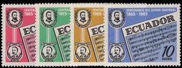 Ecuador 1965 National Anthem Unmounted Mint. - Ecuador