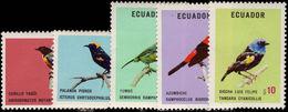 Ecuador 1973 Birds Unmounted Mint. - Ecuador