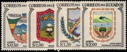 Ecuador 1962 Cantonal Arms Of Tungurahua Unmounted Mint. - Ecuador