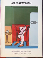 Catalogue De Ventes Ader-Tajan - Art Contemporain - 1992 - Non Classés