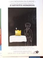 Catalogue De Ventes Ader-Tajan - Création En Europe Artistes Hongrois - Peintures - 1991 - Vieux Papiers