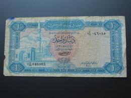 Libye 1 One Dinar 1971 - Central Bank Of Libya  **** EN ACHAT IMMEDIAT **** - Libye