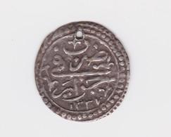 Rare 1/4 De Budju (6 Mazunas) 1237   TTB Mais Percée - Algeria