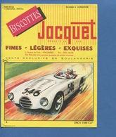 Biscotte Jacquet Buvard Voiture Automobile Course OSCA 1500 Cm³ Imprimerie Armoricaine Nantes - Automotive