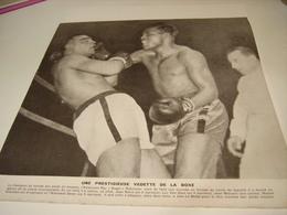 ANCIENNE PHOTO VEDETTE DE LA BOXE RAY SUGAR ROBINSON 1950 - Boksen