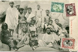 COTE FRANCAISE DES SOMALIS CARTE POSTALE -GROUP OF SOMALIS DEPART DJIBOUTI 30 DEC 05 POUR DJIBOUTI - Lettres & Documents