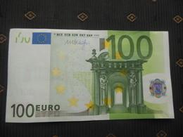 "100 EURO "" N "" F012 E1, AUSTRIA ,DRAGHI, See Foto - 100 Euro"