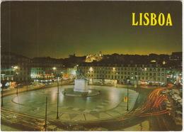 Lisboa At Night -  (Portugal) - (Red Meter-mark 'Santa Marta', Lisboa) - Lisboa