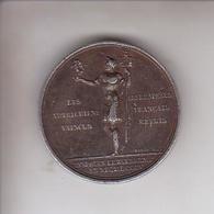 Napoleon Empereur Et Roi - Les Autrichiens Vaincus - Les Drapeaux Français Repris - 1805 - Médailles & Décorations
