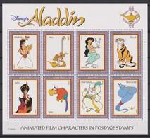 2331  WALT DISNEY - GUYANA ( ALADDIN ) The Cartoon Characters . - Disney