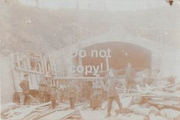 55  Montmedy - Carte Photo Allemande Guerre 1914 - 1918 - Travaux De Pont - Montmedy