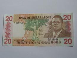20 Twenty Leones 1988 - Bank Of Sierra Leone  **** EN ACHAT IMMEDIAT **** - Sierra Leone