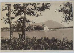 LATINA - Santuario Santa Maria Della Sorresca Sul Lago Di Sabaudia - Sullo Sfondo Il Circeo - Latina