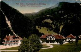 Pyhrnbahn - Brunnental Bei Steyrling - Jagdvillen Fürst Schaumburg-Lippe (3016) * Karte Von 1912 * 5. 8. 1921 - Österreich