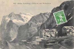 Kleine Scheidegg Mit Wetterhorn - Jungfrau, Eiger - BE Berne