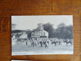 GG RARE Cpa 60 Chantilly, La Rentrée Au Pesage TBE écrite 1917, Course De Chevaux Hypodrome - Chantilly